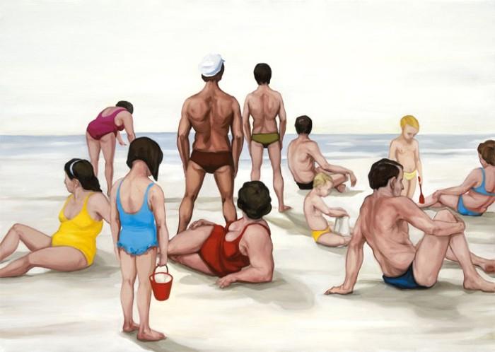 На пляже. Автор: Biljana Djurdjevic.