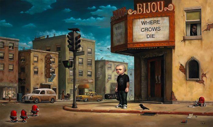 Где умирают вороны. Автор: Bob Dob.
