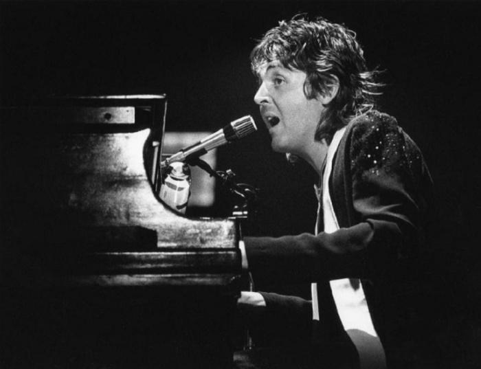 Пол Маккартни (Paul McCartney), 1976 год. Автор фото: Bob Gruen.