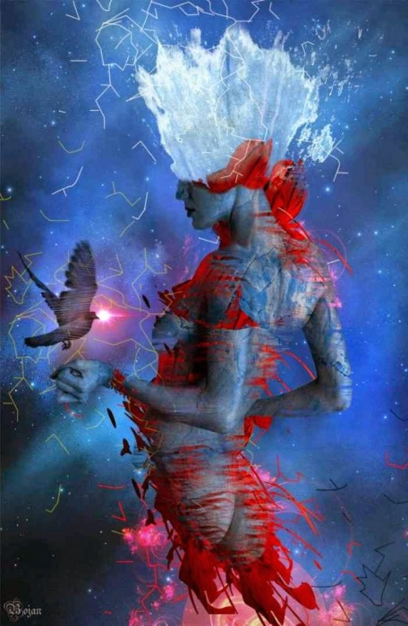 Огонь, вода и Вселенная. Автор: Bojan Jevtic.