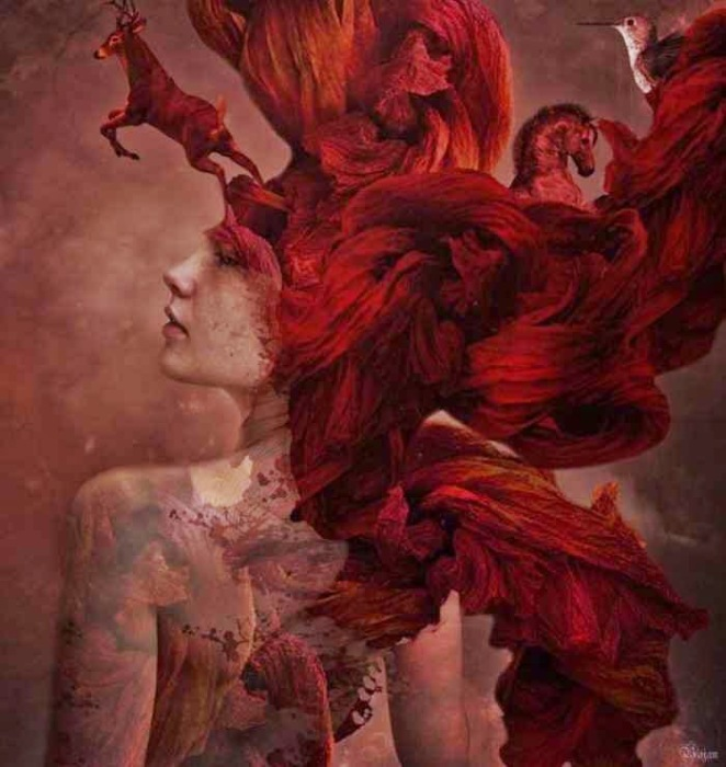 Сила твоих волос. Автор: Bojan Jevtic.