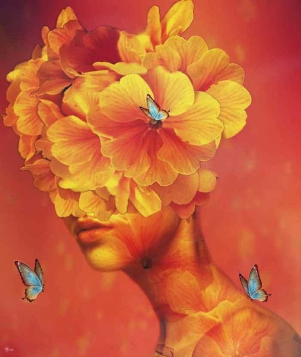 Цветочный букет. Автор: Bojan Jevtic.