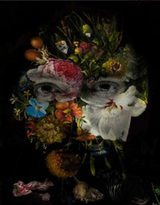 Террористский цветок. Автор: Bojan Jevtic.