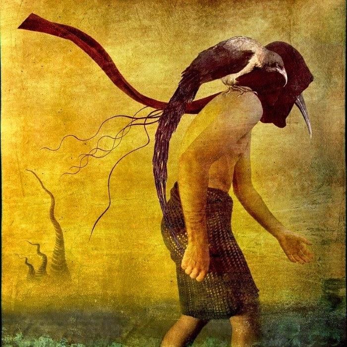 Работы из серии «Идущий по лезвию реальности». Автор: фотохудожник Боно Звир (Bono Zwir).