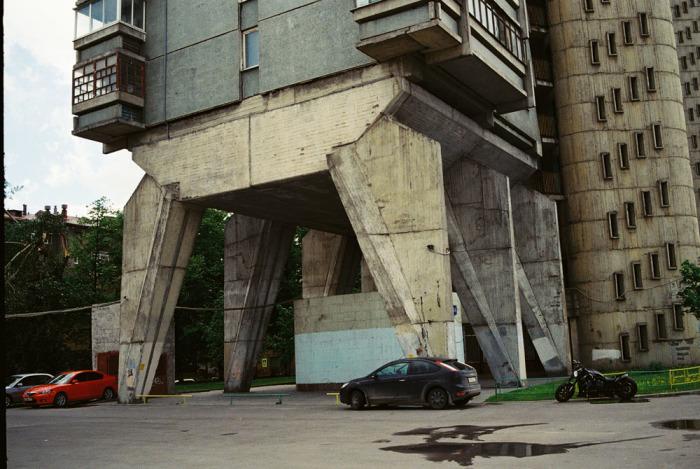 Многогранная Москва. Автор: Boogie.