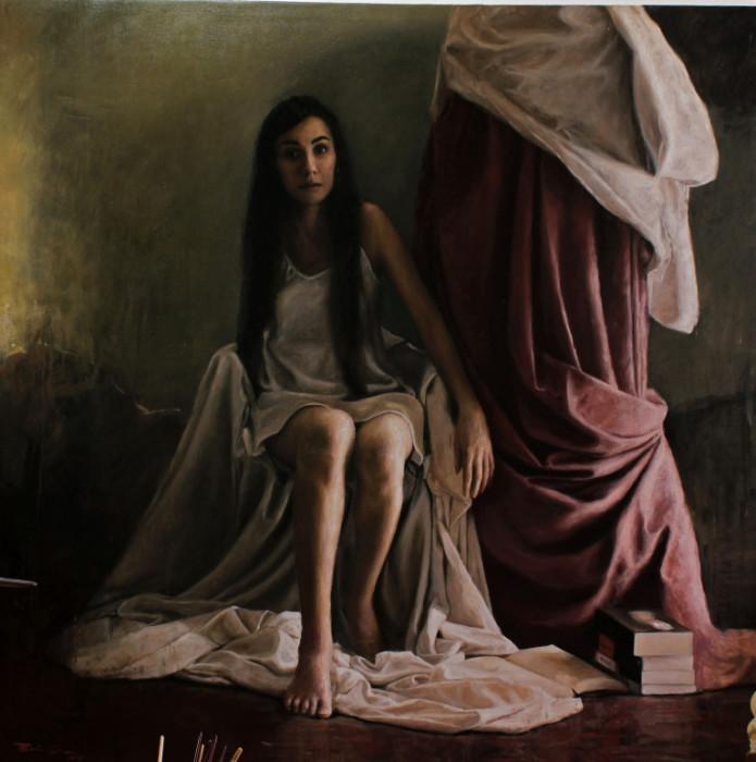 Женщина в тени. Автор: Boris Correa.