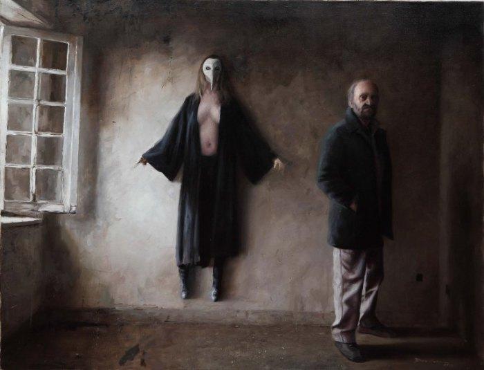 Женщина-птица.  Автор: Boris Correa.