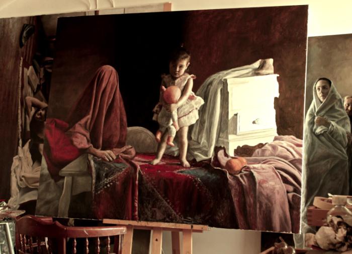 Во время сна. Автор: Boris Correa.