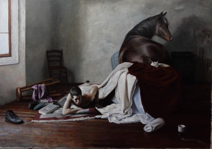 Отдых лошади. Автор: Boris Correa.