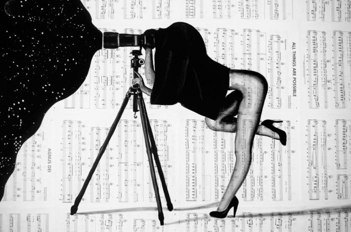 Жена астронома. Автор: Brandon Scott.