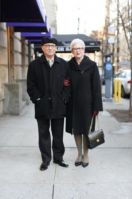 Модная пара.
