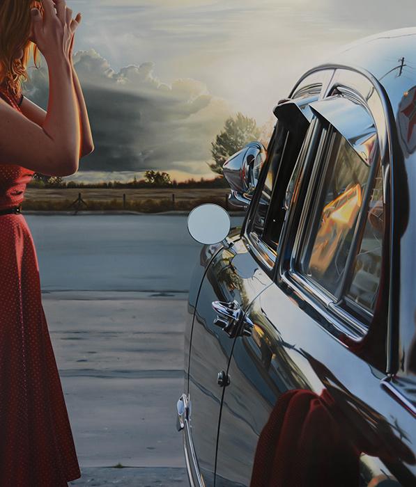 Машина подана. Автор: Brian Tull.