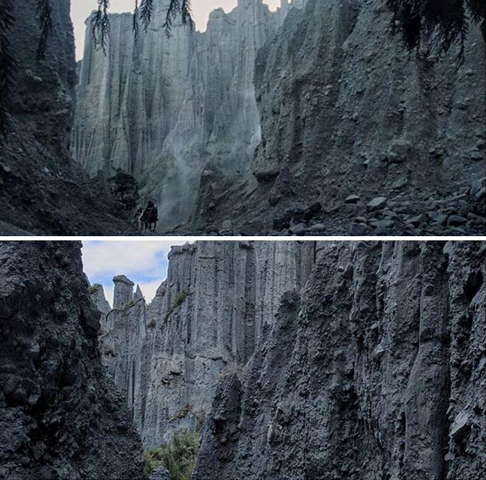 Путешествие по долине Харроудейл, Пути Мертвых на вершине Путангируа в лесах Аоранги. Автор: Bry Voydatch.