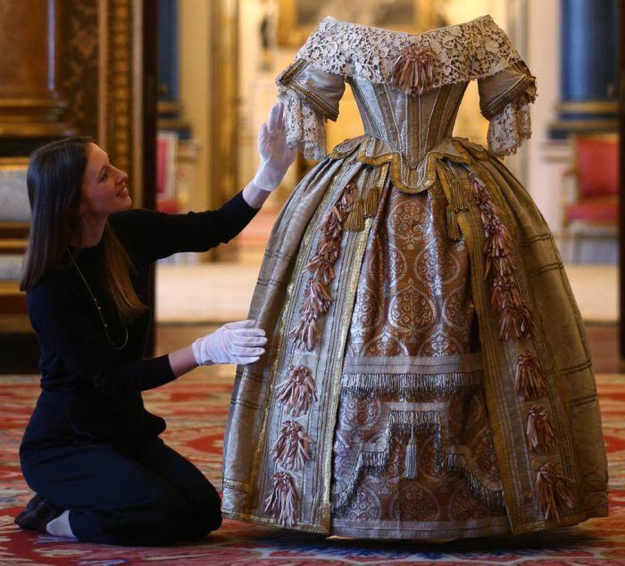 Платье королевы Виктории.