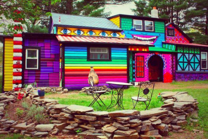 Волшебный дом.