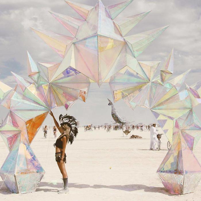 Фестиваль Burning Man 2017.