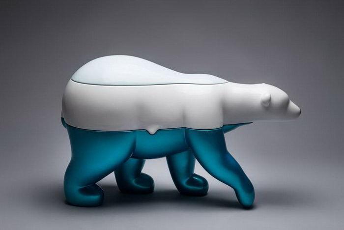 Таяние льдов. Автор: Byun Dae-Yong.