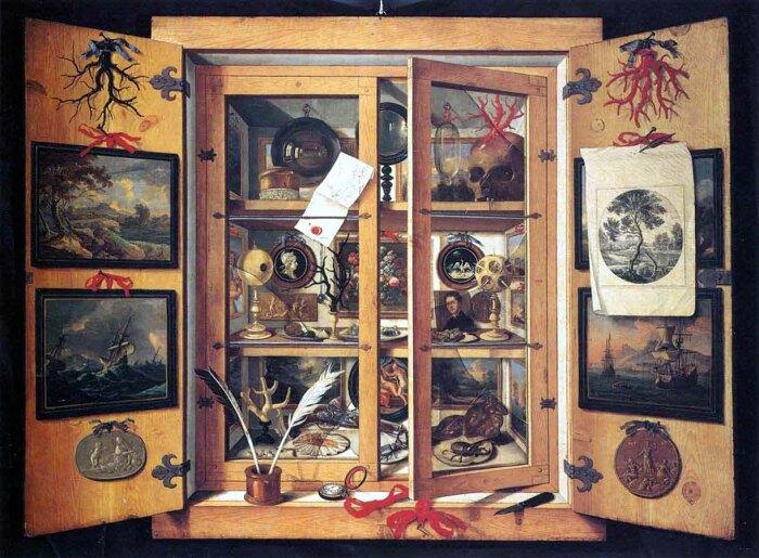 Доменико Ремпс, Кунсткамера, 1690-е годы. \ Фото: wordpress.com.