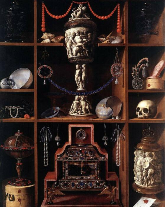 Кунсткамера, Йоган Георг Хайнц, 1666 год. \ Фото: mywishboard.com.