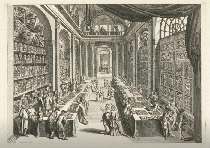 Чудо-театр природы, Левинус Винсент, 1706 год. \ Фото: gunlerinkopugu.home.blog.