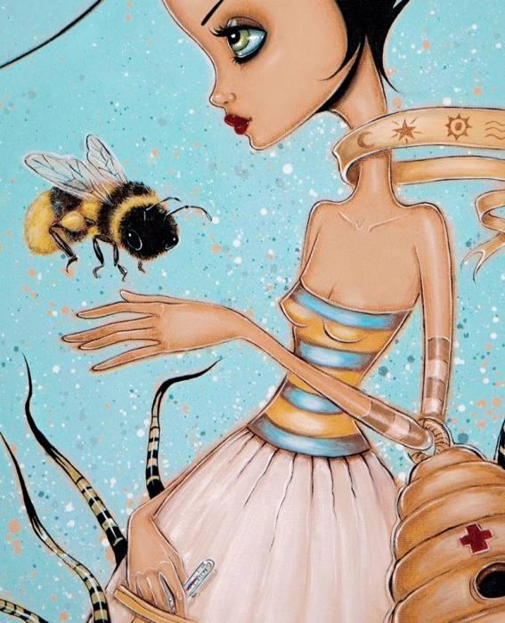 Пчёлы нуждаются в помощи. Автор: Caia Koopman.