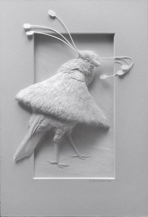 3D-скульптуры животных. Автор: Calvin Nicholls.