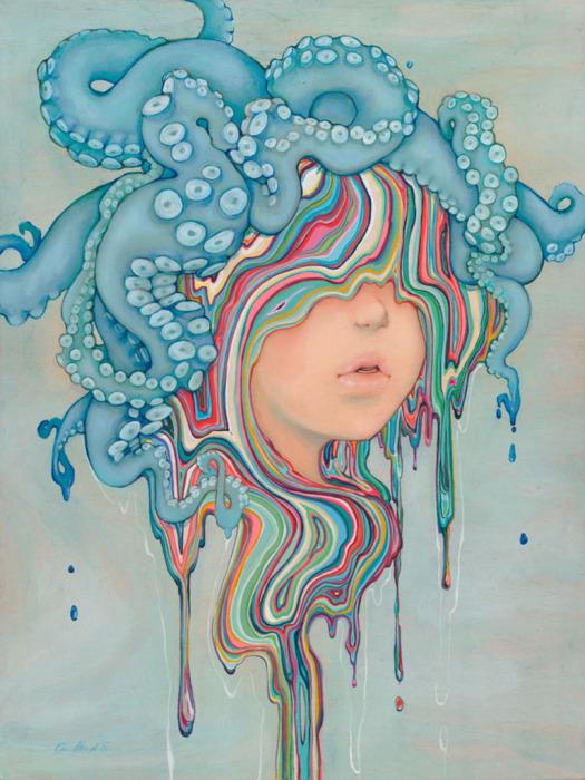 Мир иллюстраций, созданный Камиллой Д'Эррико (Camilla d'Errico).