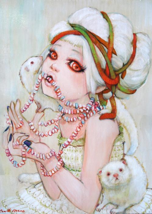 Милые и по-детски невинные образы от Камиллы Д'Эррико (Camilla d'Errico).
