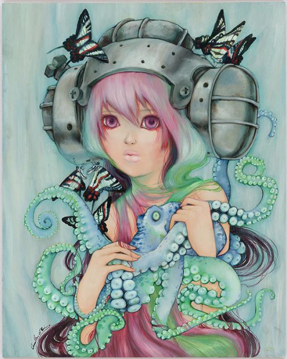 Волшебный мир иллюстраций Камиллы Д'Эррико (Camilla d'Errico).