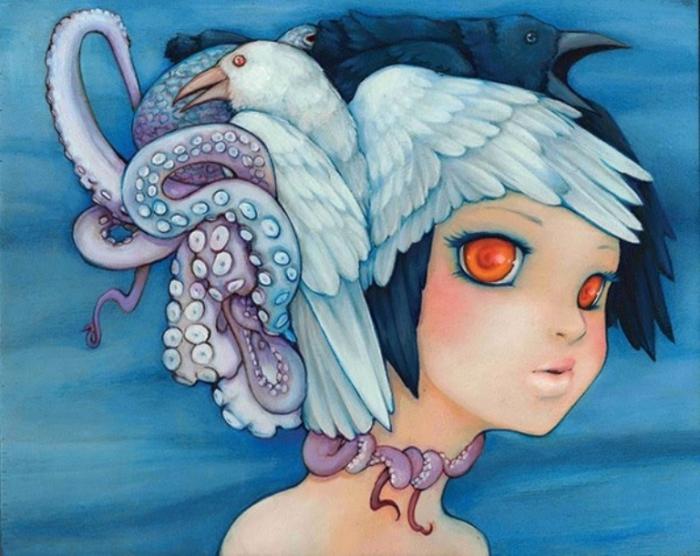 Волшебные иллюстрации Камиллы Д'Эррико (Camilla d'Errico).