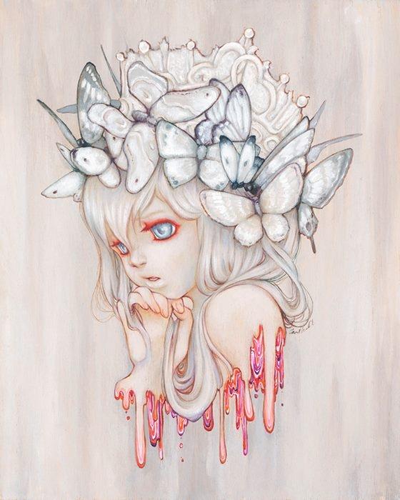 Нежные образы, придуманные Камиллой Д'Эррико (Camilla d'Errico).