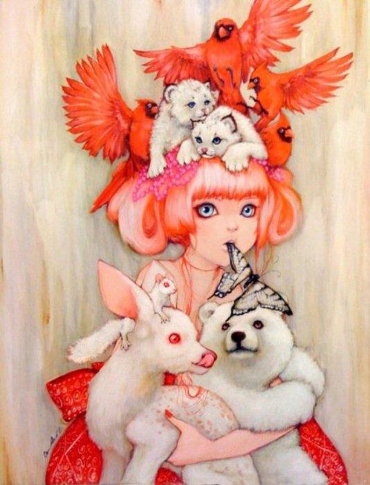 Милые и по-детски очаровательные рисунки Камиллы Д'Эррико (Camilla d'Errico).