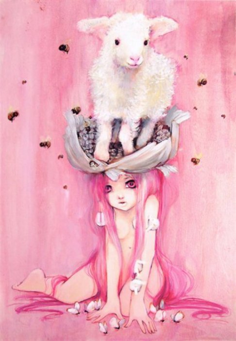 Очаровательные иллюстрации Камиллы Д'Эррико (Camilla d'Errico).