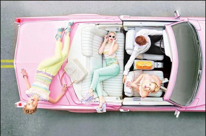 Гламурная поездка. Автор: Candyfornia.