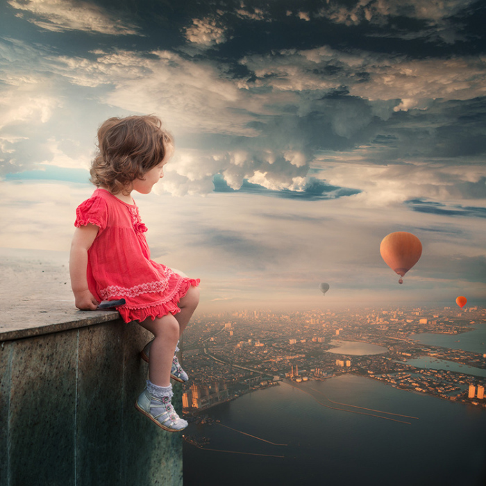 Мечтательница. Фотохудожник  Караш Йонуц (Caras Ionut).