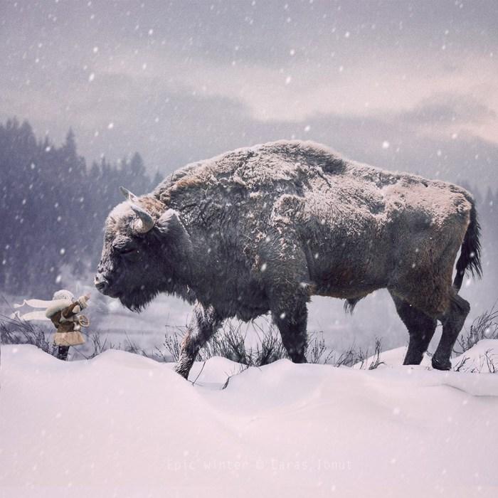 Волшебная зима. Фотохудожник  Караш Йонуц (Caras Ionut).