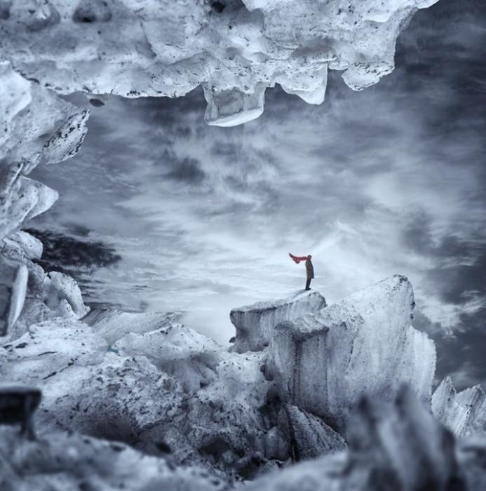 Ледяной остров. Фотохудожник  Караш Йонуц (Caras Ionut).