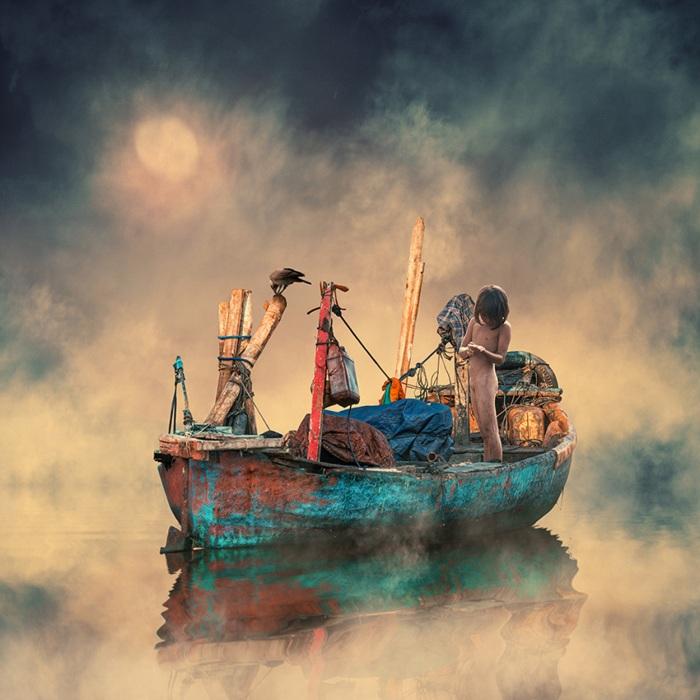 Морское приключение. Фотохудожник  Караш Йонуц (Caras Ionut).