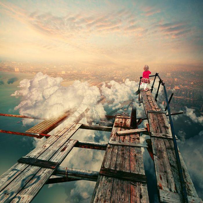 Ближе к облакам. Фотохудожник  Караш Йонуц (Caras Ionut).