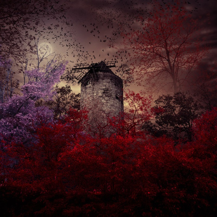 Старая мельница. Фотохудожник  Караш Йонуц (Caras Ionut).