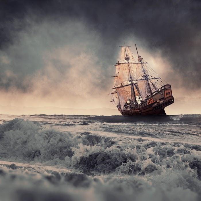Призрачный корабль. Фотохудожник  Караш Йонуц (Caras Ionut).