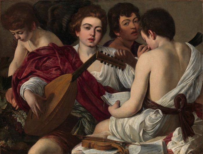 Музыканты.