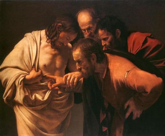 Неверие апостола Фомы.