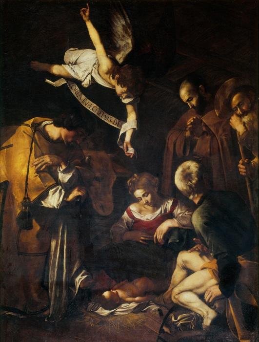 Рождество со святым Франциском и святым Лаврентием.
