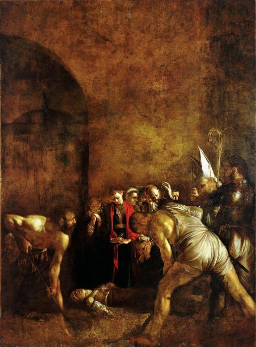 Погребение святой Лючии.