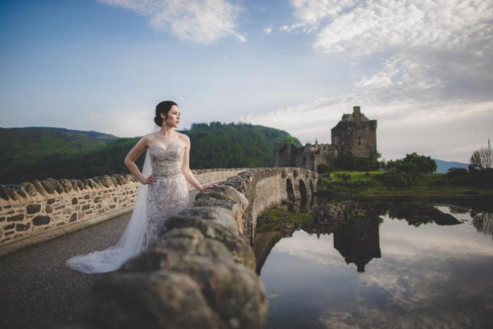 Замок невесты. Автор фото: Кэри Нэш (Carey Nash).