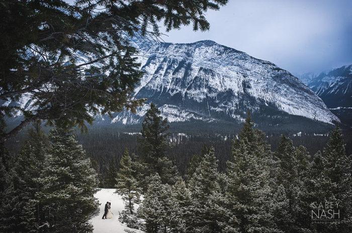 Свадьба в зимних горах. Автор фото: Кэри Нэш (Carey Nash).