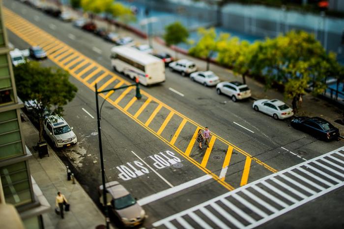 Свадебная прогулка по улицам Нью-Йорка. Автор фото: Кэри Нэш (Carey Nash).