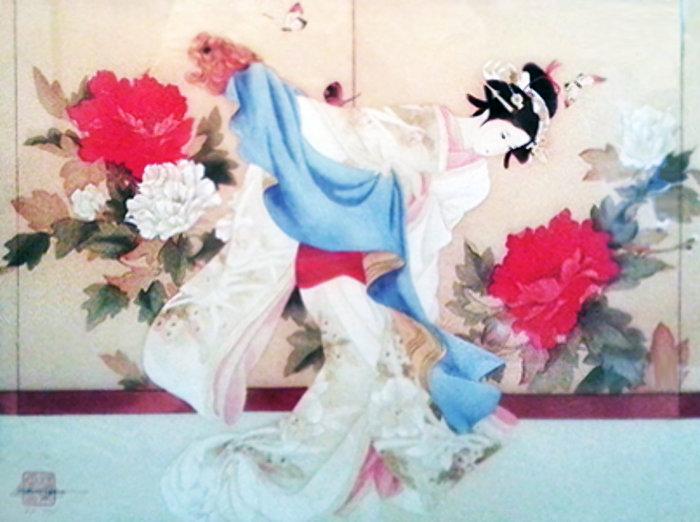 Танцовщица по имени Фу. Автор: Caroline Young.