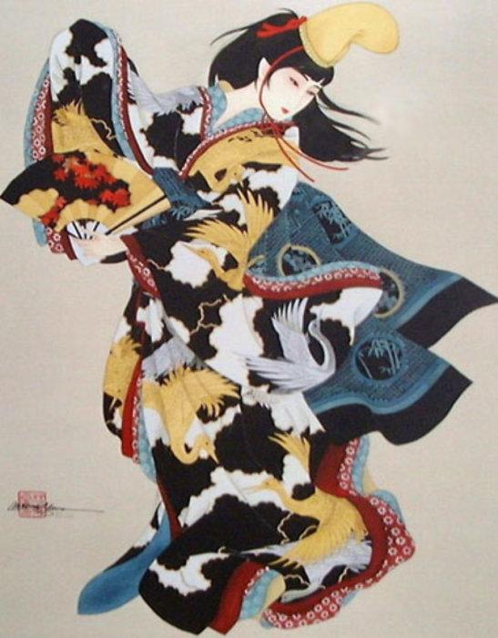 Танец гладиолусов. Автор: Caroline Young.